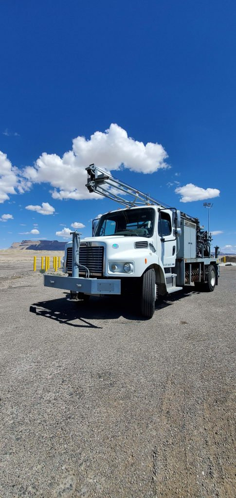 Front End Truck Drillling Rig